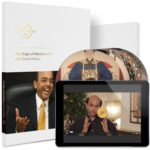 The Magic of Manifestation with Shomit Mitter - DVD Box Set + Online Streaming Video Bundle