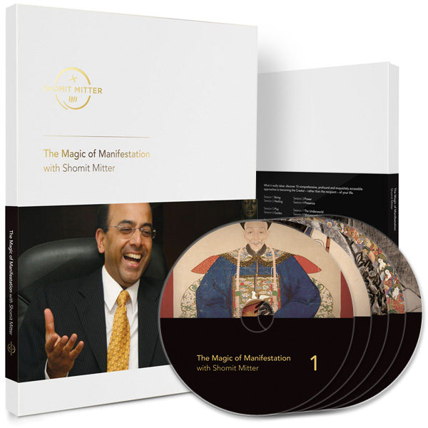 The Magic of Manifestation with Shomit Mitter - bespoke 5-DVD box set